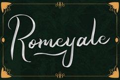 Romeyale | Web Font Product Image 1