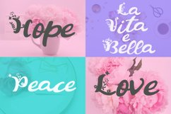 Summer Flowers Fun and Flowery Font Product Image 2