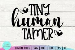 Tiny Human Tamer Svg, Chaos Coordinator Svg, Momlife Svg Product Image 2