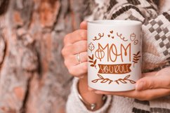 Beaver Moon Handwritten Fall Font With Doodles Product Image 2
