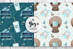 YOGA Digital Paper Pack - Pattern Fashion Illustration Product Image 2