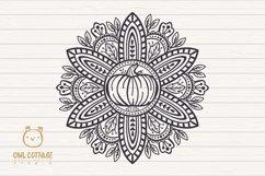 Fall Mandala Monograms svg, Fall monograms mini bundle, Autu Product Image 2