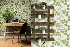 Watercolor greenery seamless pattern of leaves Product Image 2