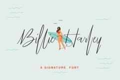 Billie Harley Signature Font Product Image 1