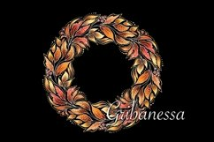 Decorative set - pattern and wreath Product Image 2
