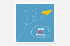 Origami paper plane. Back to school Product Image 1