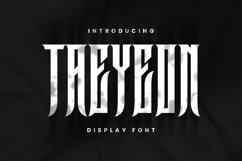 Taeyeon Font Product Image 1