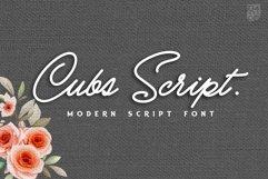 Cubs Script Product Image 1