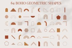 Boho Geometric Shapes & Elements - More than 500 Product Image 2