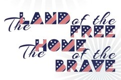 Patriot font family Product Image 5