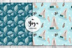 YOGA Digital Paper Pack - Pattern Fashion Illustration Product Image 6