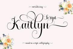Kaitlyn Script Product Image 1