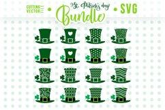 Leprechaun Hats - SVG - St. Patrick's Day Bundle Product Image 1
