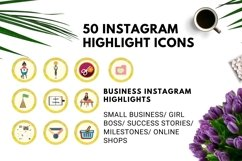 Instagram Story Highlight Icons Yellow Watercolor- Set of 50 Product Image 3