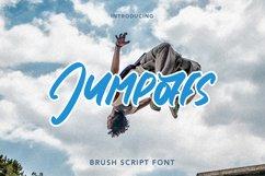 Jumpoffs - Brush Script Font Product Image 1
