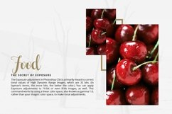 The FOOD 65 Photoshop Actions THC Product Image 6