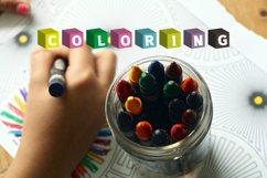 Color Cubes Font Product Image 5