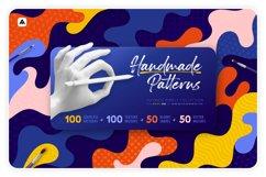 Handmade patterns bundle - 300 patterns, brushes, and shapes Product Image 1