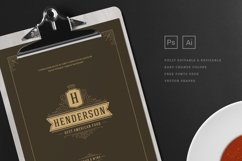 Restaurant Menu Template and Logo Product Image 3