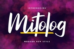 Mitolog - Modern New Style Product Image 1