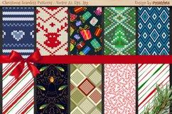 50 Christmas Seamless Patterns Product Image 2