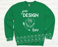 Gildan 18000 Sweatshirt Mockup Bundle - All Colors! Product Image 4
