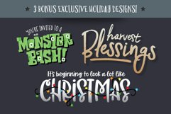 Holiday Font Pack Product Image 3