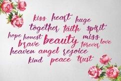 Web Font Rose Wine Typeface Product Image 3