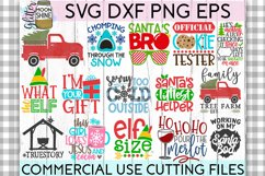 Giant Christmas Bundle of 58 SVG DXF PNG EPS Cutting Files Product Image 2