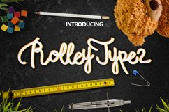 Rolley Typeface 2 Product Image 1