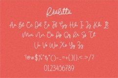 Web Font - Realitta Product Image 6