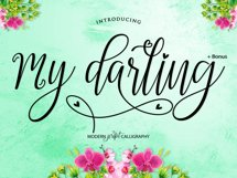 My Darling Script  Bonus Product Image 2