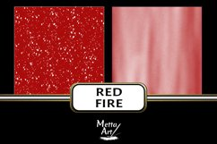Red Fire - 10 Digital Papers/Backgrounds Product Image 6