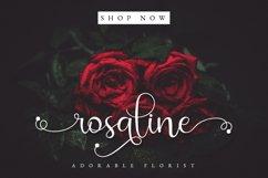 Rossalia Shine - Tiny Elegant Calligraphy Product Image 4