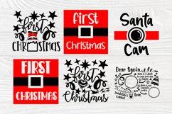 Christmas SVG Bundle, Dear Santa Tray Svg, 1st Christmas Svg Product Image 5