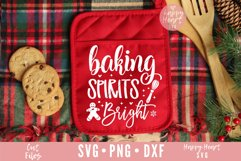 Baking Spirits Bright SVG Product Image 1