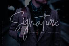 Pink Script - Beautiful Signature Font Product Image 3
