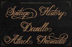 Classic Script - Metalurdo Calligraphy Font Product Image 3
