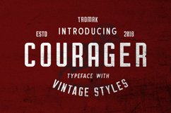 Courager Typeface (8 Fonts!) Product Image 1