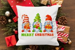 Gnomes Christmas sublimation designs Watercolor christmas Product Image 2
