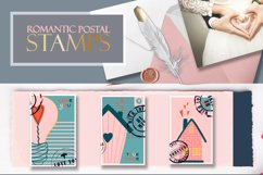 Postage stamps romantic for Valentine's Day BIG Product Image 4