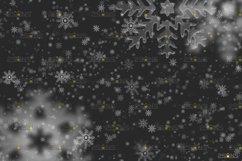 Christmas overlay & Snow overlay, Photoshop overlay Product Image 2
