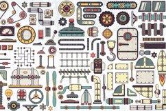 Steampunk machine parts bundle Product Image 3