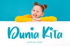 Dunia Kita Exciting Display Font Product Image 1