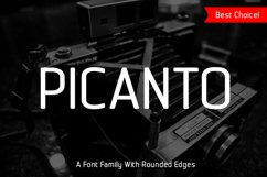 Picanto Font Product Image 1