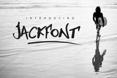 Jackfont Script Typeface Product Image 1