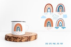 Bohemian Rainbow | SVG Cut Files Product Image 3