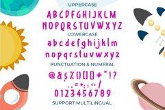 The Astrokiddos - A Fun & Joyfull Font Product Image 4