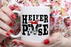 Heifer SVG Bundle, not today heifer svg, heifer please svg Product Image 6