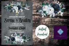 Gothic Dark Wedding Invitation Product Image 3